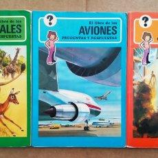 Libros de segunda mano: LOTE SERIE PREGUNTAS Y RESPUESTAS (NORMA, 1977-1978). POR GEORGE BEAL. 9 VOLÚMENES.. Lote 195259267