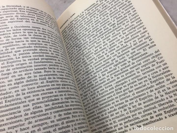 Libros de segunda mano: Renacimiento y Karma. El problema de la reencarnacion Plaza y Janés 1989 Sri Aurobindo - Foto 7 - 195262453