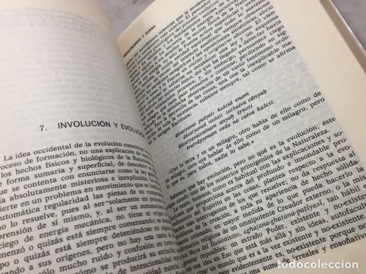Libros de segunda mano: Renacimiento y Karma. El problema de la reencarnacion Plaza y Janés 1989 Sri Aurobindo - Foto 8 - 195262453