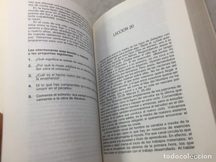 Libros de segunda mano: CURSO DE INTERPRETACION ESOTERICA DE LOS EVANGELIOS. KABALEB. 1982 - Foto 7 - 195264290