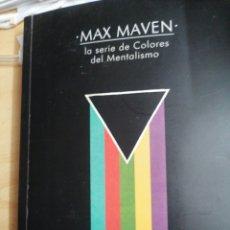 Libros de segunda mano: MAX MAVEN. Lote 195280017