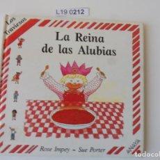 Libros de segunda mano: LA REINA DE LAS ALUBIAS. ROSE IMPEY-SUE PORTER.2ª EDICIÓN 1990.. Lote 195280578