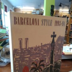 Libros de segunda mano: BARCELONA STYLE 1993- 94. Lote 195280698
