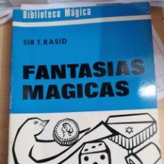 Libros de segunda mano: FANTASIAS MÁGICAS. Lote 195281138