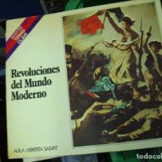 Libros de segunda mano: REVOLUCIONES DEL MUNDO MODERNO, ALFONSO LAZO. L.3858-423. Lote 195281558