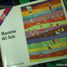 Libros de segunda mano: MAESTROS DEL ARTE, JOSÉ M. CRUZ VALDOVINOS. L.3858-424. Lote 195281823