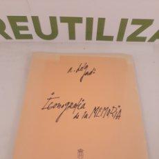 Libros de segunda mano: ICONOGRAFIA DE LA MEMORIA.ASAMBLEA DE MADRID 1999.. Lote 195282555