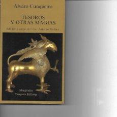 Libros de segunda mano: ALVARO CUNQUEIRO TESOROS Y OTRAS MAGIAS . Lote 195282557