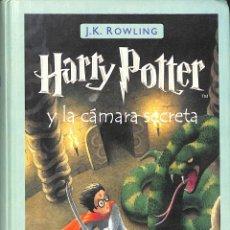 Libros de segunda mano: HARRY POTTER Y LA CÁMARA SECRETA (HARRY POTTER 2) - J.K. ROWLING - SALAMANDRA INFANTIL Y JUVENIL. Lote 195283533