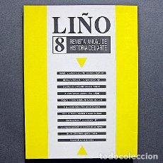 Libros de segunda mano: LIÑO. REVISTA ANUAL DE HISTORIA DEL ARTE NÚMERO 8 - 1986. Lote 195284430