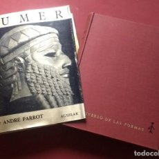 Libros de segunda mano: SUMER - 1960 - ANDRE PARROT - EL UNIVERSO DE LAS FORMAS.. Lote 195288706