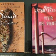 Libros de segunda mano: LIBROS A. VÁZQUEZ FIGUEROA FIRMADOS Y DEDICADOS. Lote 195297845