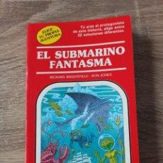 Libros de segunda mano: EL SUBMARINO FANTASMA. ELIGE TU PROPIA AVENTURA 19. Lote 195308638