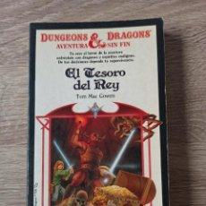 Libros de segunda mano: EL TESORO DEL REY. COLECCIÓN AVENTURA DUNGEONS & DRAGONS 9. Lote 195309307