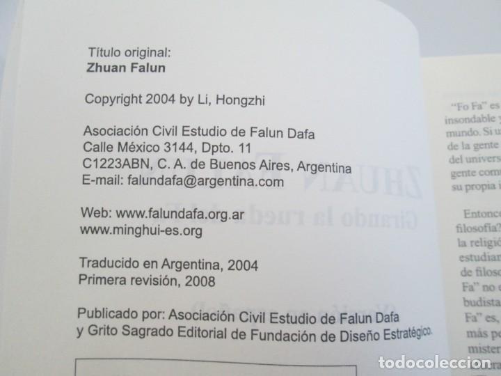 Libros de segunda mano: ZHUAN FALUN. GIRANDO LA RUEDA DEL FA. LI HONGZHI. EDITORIAL GRITO SAGRADO. 2008 - Foto 11 - 195309596