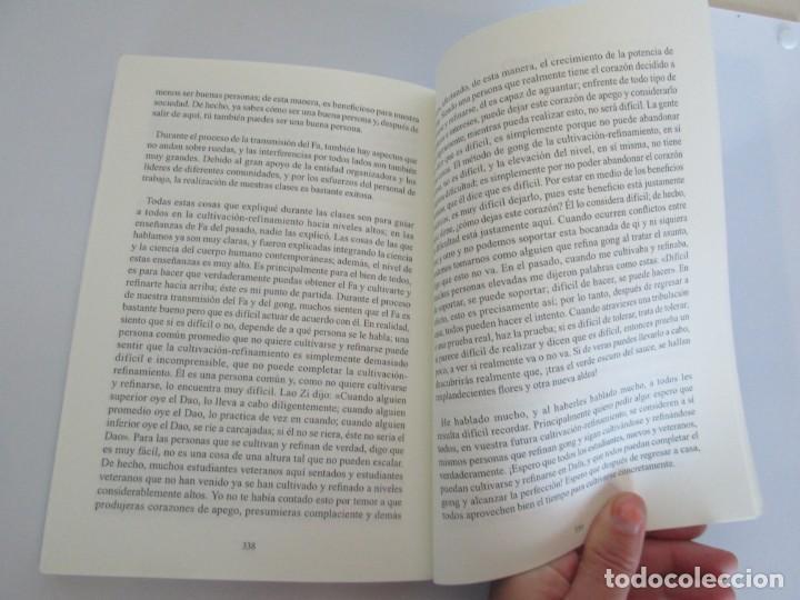 Libros de segunda mano: ZHUAN FALUN. GIRANDO LA RUEDA DEL FA. LI HONGZHI. EDITORIAL GRITO SAGRADO. 2008 - Foto 21 - 195309596
