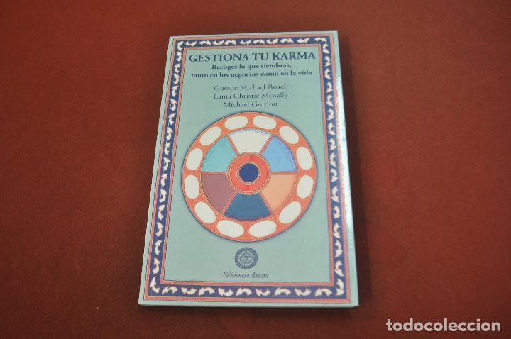 GESTIONA TU KARMA , RECOGES LO QUE SIEMBRAS - AJB (Libros de Segunda Mano - Parapsicología y Esoterismo - Otros)