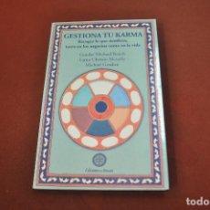 Libros de segunda mano: GESTIONA TU KARMA , RECOGES LO QUE SIEMBRAS - AJB. Lote 195315982