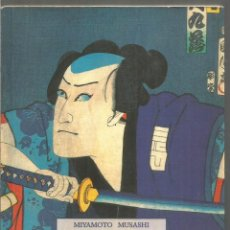 Libros de segunda mano: MIYAMOTO MUSASHI. TRATADO DE LAS CINCO RUEDAS (GORIN NO SHO). OLAÑETA. Lote 195320103