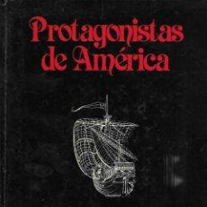 Libros de segunda mano: PROTAGONISTAS DE AMERICA HISTORIA 16 LIBRO DE CARICATURAS . Lote 195322941