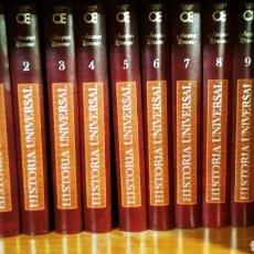 Libros de segunda mano: ENCICLOPEDIA DE HISTORIA UNIVERSAL DE JACQUES PIRENNE 10 TOMOS.LAS GRANDES CORRIENTES DE LA HISTORIA. Lote 195323393
