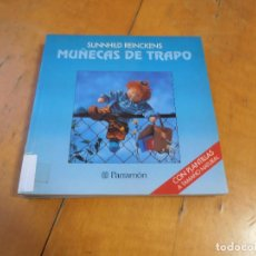 Libros de segunda mano: MUÑECAS DE TRAPO - CON PLANTILLAS - SUNNHILD REINCKENS - ED. PARRAMON 1995. Lote 195325000