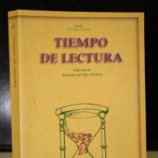 Libros de segunda mano: TIEMPO DE LECTURA.. Lote 195327332