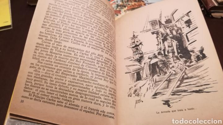 Libros de segunda mano: Carlos V. Num. 13 de la Colección Amenus. Años 50. - Foto 4 - 195332180