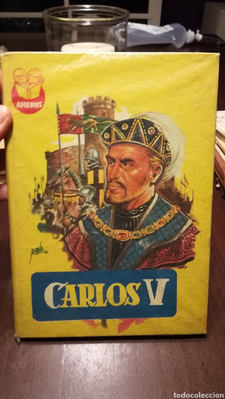 CARLOS V. NUM. 13 DE LA COLECCIÓN AMENUS. AÑOS 50. (Libros de Segunda Mano - Literatura Infantil y Juvenil - Otros)