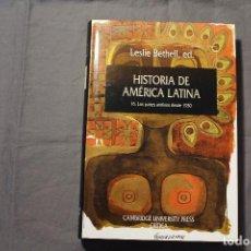 Libros de segunda mano: HISTORIA DE AMÉRICA LATINA 16. LOS PAÍSES ANDINOS DESDE 1930. LESLIE BETHELL, ED.. Lote 195332221