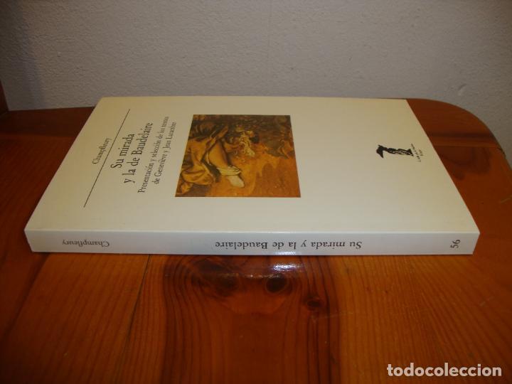 Libros de segunda mano: SU MIRADA Y LA DE BAUDELAIRE - CHAMPFLEURY - LA BALSA DE LA MEDUSA, VISOR, MUY BUEN ESTADO - Foto 2 - 195336205
