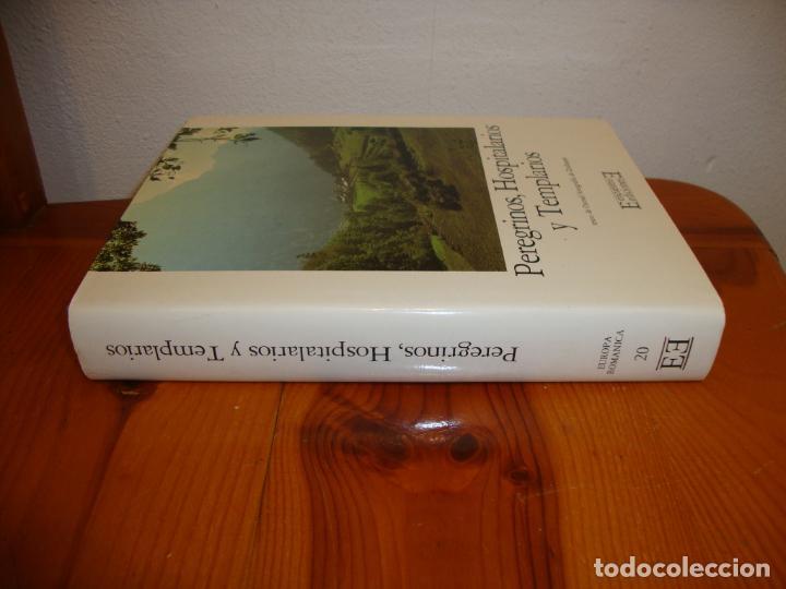 Libros de segunda mano: PEREGRINOS, HOSPITALARIOS Y TEMPLARIOS. EUROPA ROMÁNICA, 10 - EDICIONES ENCUENTRO,TELA, MUY BUEN EST - Foto 2 - 195337246
