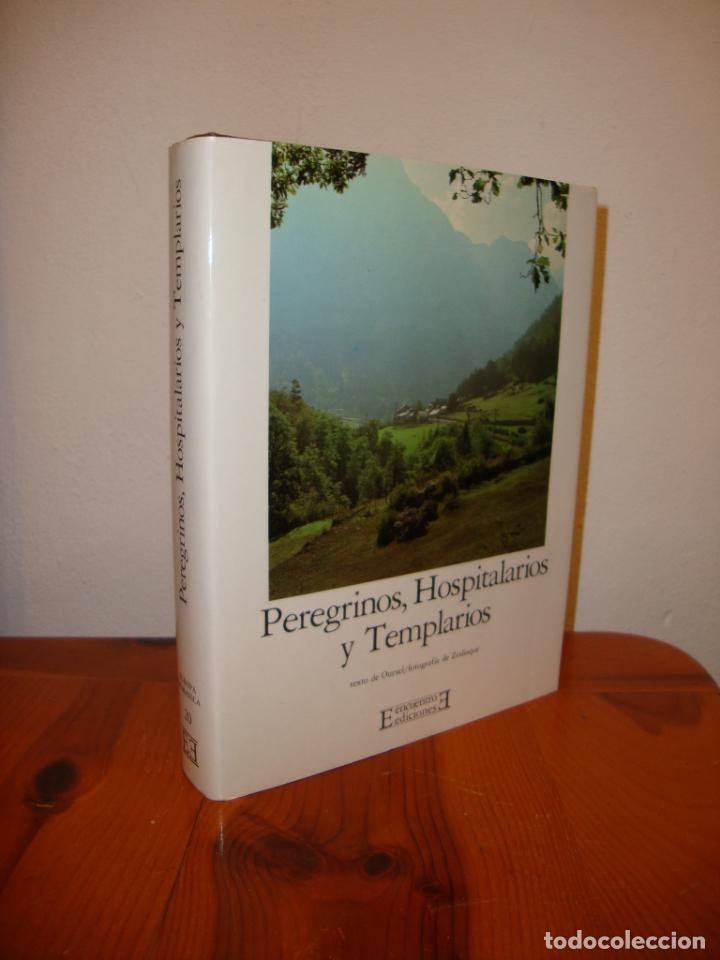 PEREGRINOS, HOSPITALARIOS Y TEMPLARIOS. EUROPA ROMÁNICA, 10 - EDICIONES ENCUENTRO,TELA, MUY BUEN EST (Libros de Segunda Mano - Bellas artes, ocio y coleccionismo - Otros)