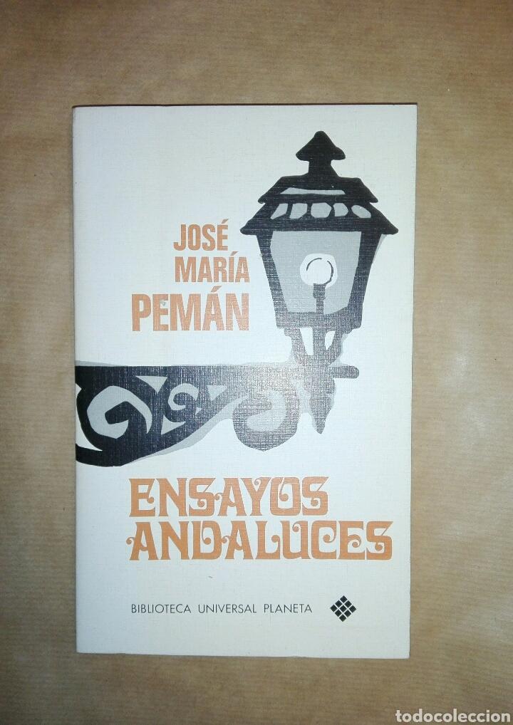 ENSAYOS ANDALUCES...1972 (Libros de Segunda Mano (posteriores a 1936) - Literatura - Otros)