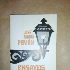 Libros de segunda mano: ENSAYOS ANDALUCES...1972. Lote 195337966