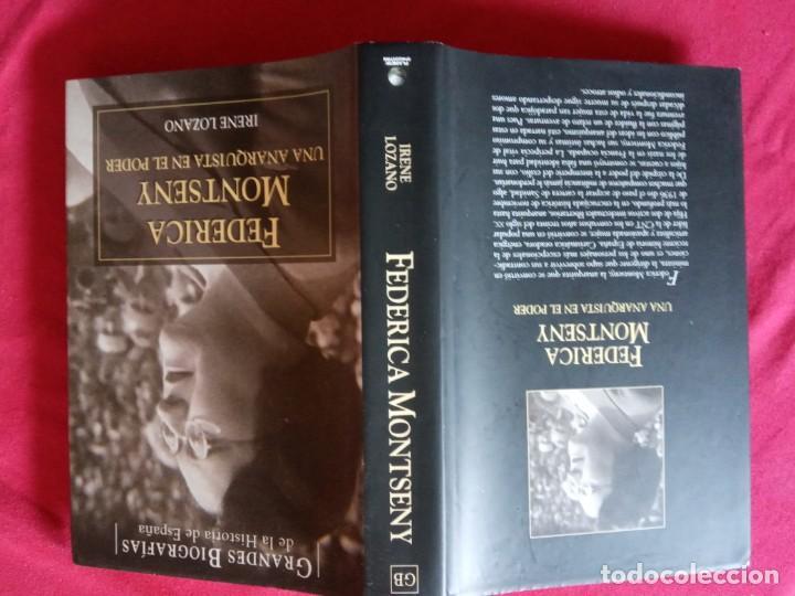 Libros de segunda mano: Federica Montseny. Una anarquista en el poder -Irene Lozano. - Foto 2 - 195338361