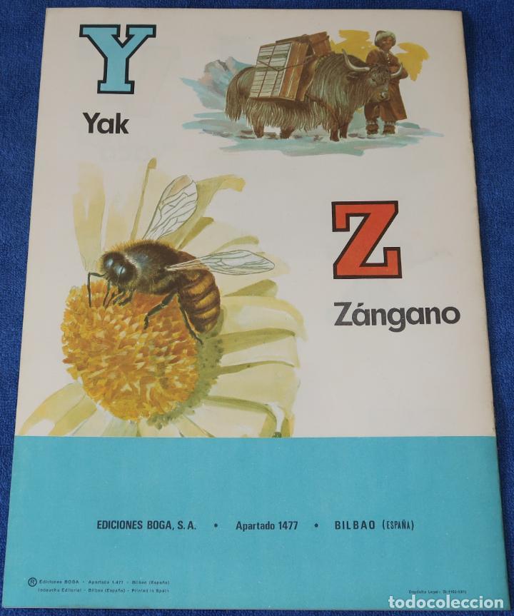 Libros de segunda mano: ABC de Animales Domésticos - Ediciones BOGA (1970) ¡Impecable! - Foto 3 - 195340400