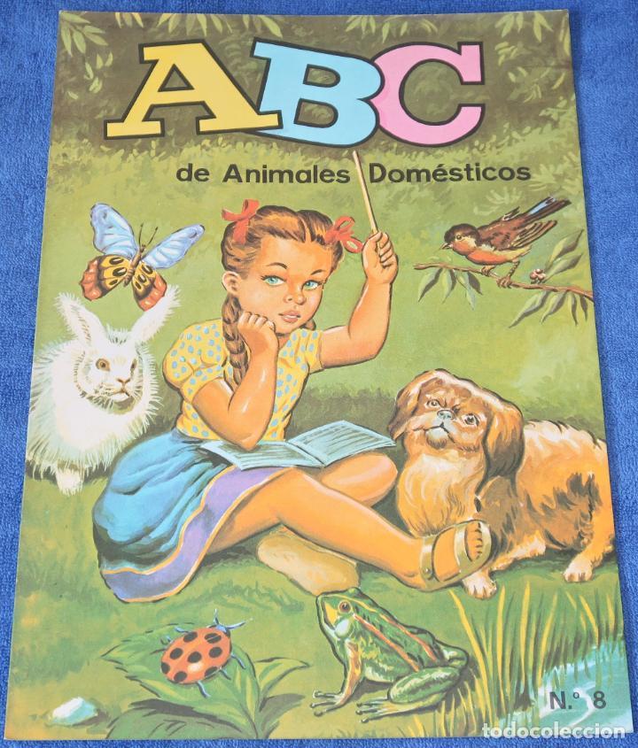 ABC DE ANIMALES DOMÉSTICOS - EDICIONES BOGA (1970) ¡IMPECABLE! (Libros de Segunda Mano - Literatura Infantil y Juvenil - Otros)