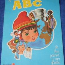 Libros de segunda mano: EL ABC DE LOS PAISES Y SUS GENTES - FHER (1977) ¡IMPECABLE!. Lote 195340446