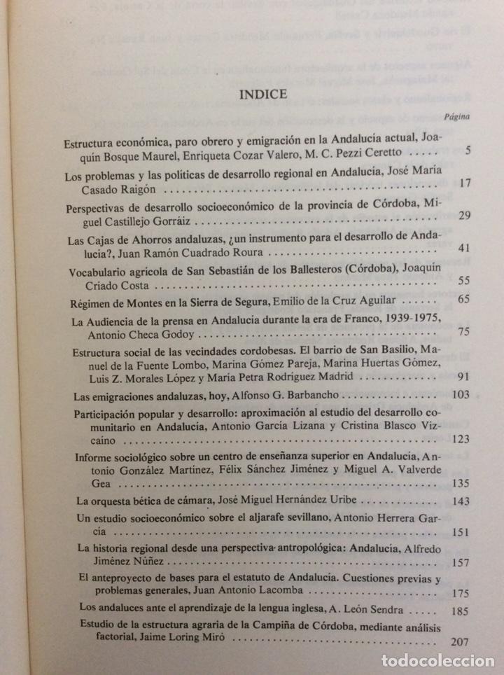 Libros de segunda mano: ANDALUCÍA HOY. ACTAS I CONGRESO HISTORIA ANDALUCÍA. DICIEMBRE 1976. CÓRDOBA - Foto 2 - 195340573