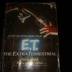 Libros de segunda mano: LIBRO E. T. THE EXTRA TERRESTRIAL EN INGLÉS WILLIAM KOTZWINKLE 1982. Lote 195341000