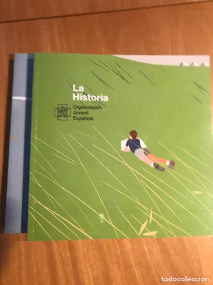 Libros de segunda mano: Estuche 3 libros OJE 50 aniversario.Los protagonistas, La Historia y El Verso. - Foto 3 - 195343053