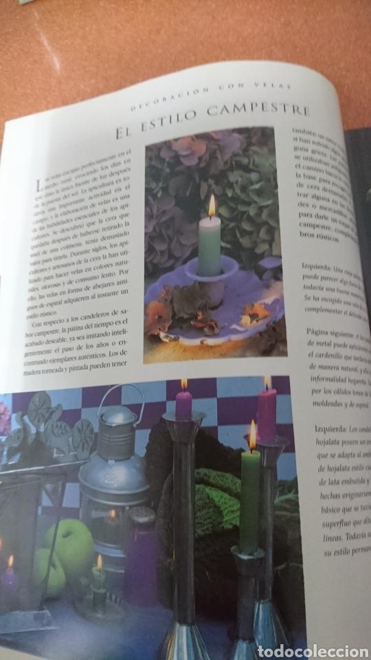 Libros de segunda mano: El libro de las velas - Foto 3 - 195344261
