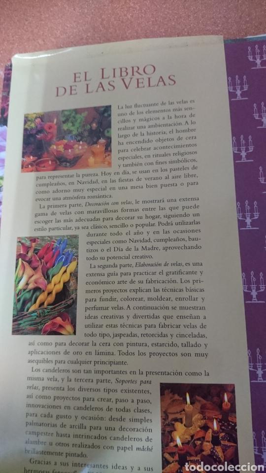 Libros de segunda mano: El libro de las velas - Foto 7 - 195344261