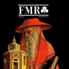 Libros de segunda mano: FMR. ARTE. EDICION ESPAÑOLA. Nº 41. ABRIL 1998. FRANCO MARIA RICCI. COMO NUEVO.. Lote 195345692