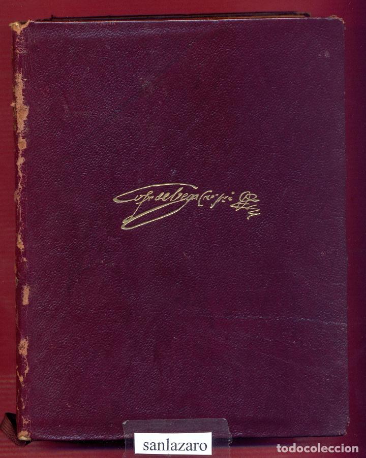 OBRAS ESCOGIDAS DE LOPE FELIX DE VEGA CARPIO EDICIONES AGUILAR 1608 PAG. AÑO 1964 LL3485 (Libros de Segunda Mano - Bellas artes, ocio y coleccionismo - Otros)