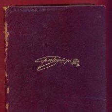 Libros de segunda mano: OBRAS ESCOGIDAS DE LOPE FELIX DE VEGA CARPIO EDICIONES AGUILAR 1608 PAG. AÑO 1964 LL3485. Lote 195353950