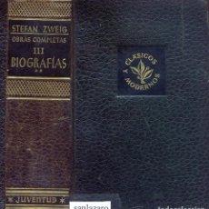 Libros de segunda mano: OBRAS COMPLETAS STEFAN ZWEIG EDITORIAL JUVENTUD 1374 PAG. AÑO 1953 LL3486. Lote 195354390