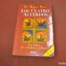 Libros de segunda mano: LOS CUATRO ACUERDOS - DR. MIGUEL RUIZ - URANO - APB. Lote 195366000