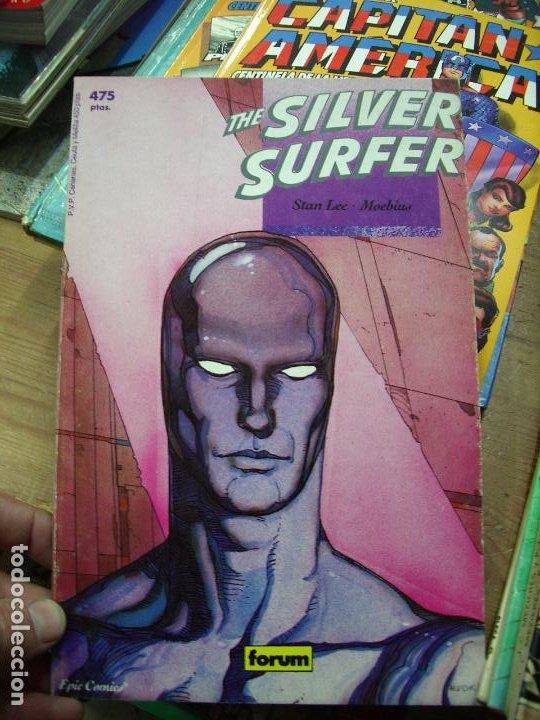 THE SILVER SURFER, STAN LEE, MOEBIUS. CO-56 (Libros de Segunda Mano - Literatura Infantil y Juvenil - Otros)